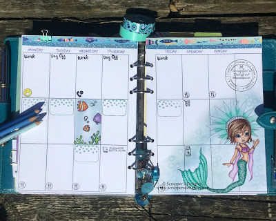 joanna`s-planner-scrappers-delight-mermaid-inspiration