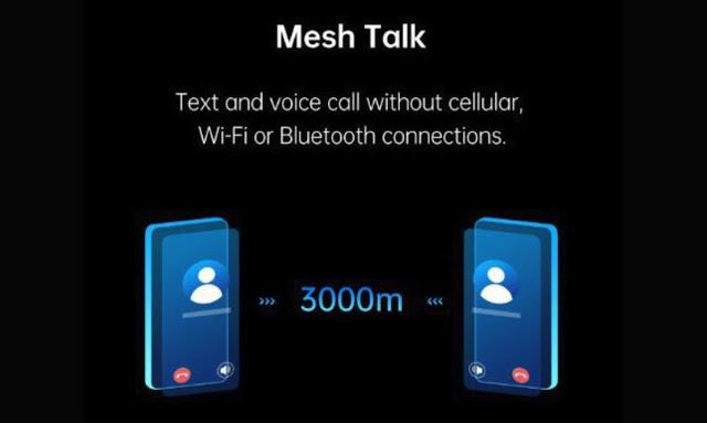الرسائل والمكالمات بدون شريحة SIM من شركات الإتصالات وبدون أنترنت ؟ هذا هو تطبيق OPPO Mesh Talk الجديد