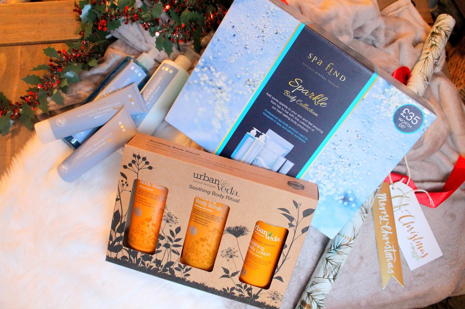 bath & body care christmas gift sets