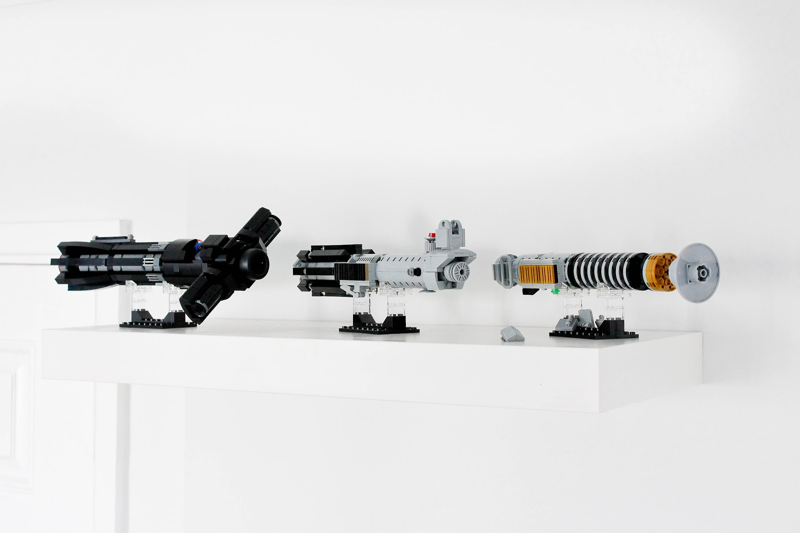 Lego lightsabers, Custom Lightsabers, Kylo Ren Lightsaber, Rey lightsaber, Lukes lightsaber, Star Wars, LEGO star wars, Star Wars lightsabers,modern office, modern office desk, modern office chairs, ikea office, home office, home study, modern office interior, Scandinavian decor, Scandinavian interior, Scandinavian office furniture, lego display, lego lightsabers, office room tour, home interiors,