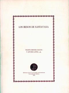 Los reinos de Santayana / Vicente Cervera Salinas y Antonio Lastra