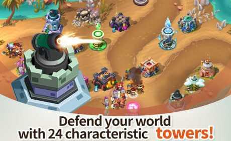 Download Hero Defense King v1.0.16 APK Mod