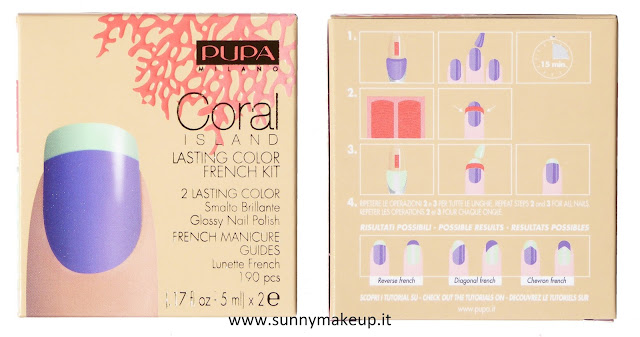 Pupa - Coral Island. Lasting Color French Kit.
