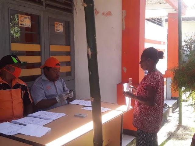 Prito Eko Siswanto Ungkap Syarat Pengambilan Uang BLT Kemensos di Kantor Pos Sarmi