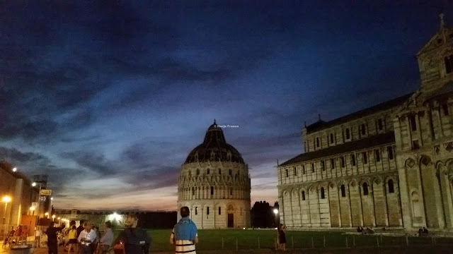 Sunset over Pisa