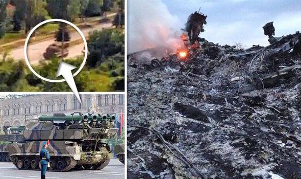 Míssil que abateu o MH17 veio da Rússia...