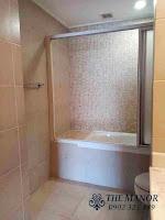 Chung cư The Manor 1 tầng thấp bán hoặc cho thuê nhà trống | bồn tắm nằm