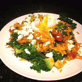Chorizo, Kale & Feta with Butternut Squash Noodles