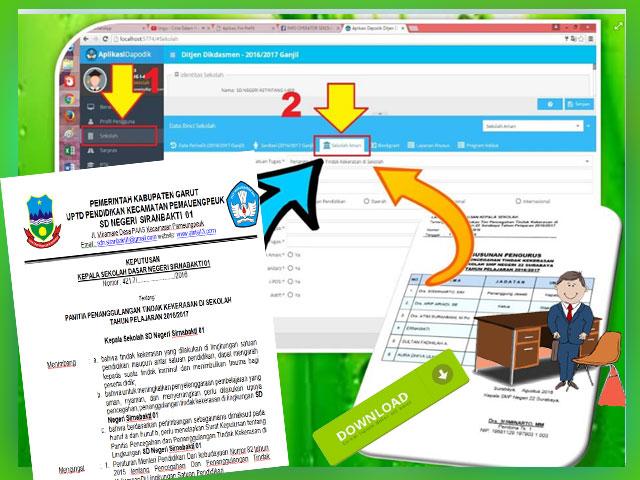 Unduh Contoh SK Sekolah Aman Aplikasi Dapodik V. 2016 Terbaru