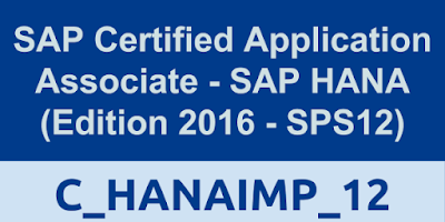 C_HANAIMP_12, SAP HANA Tutorials, SAP HANA Materials, SAP HANA Certifications