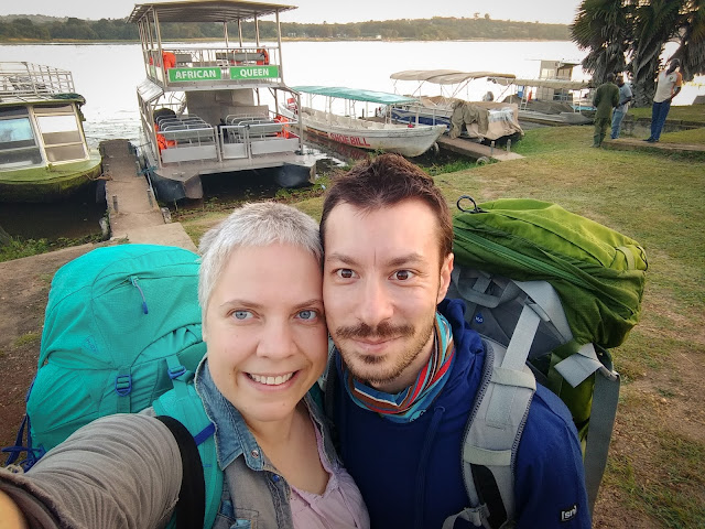 Nilul in Murchison Falls NP, Uganda