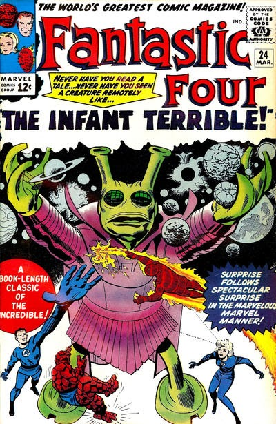 Fantastic Four #25, Infant Terrible