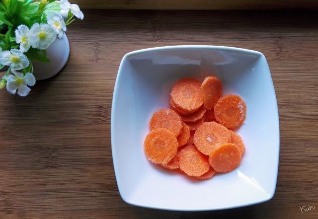 Xarope de cenoura caseiro