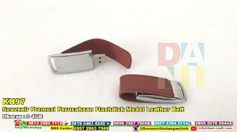 Souvenir Promosi Perusahaan Flashdisk Model Leather Belt