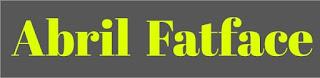 SVN-Abril Fatface