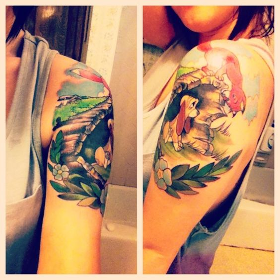 14 Most Popular Disney Tattoos Design