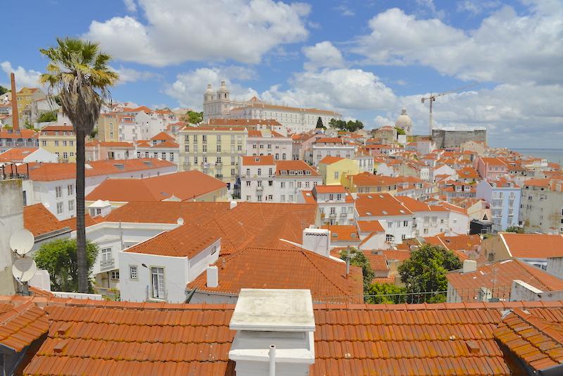 Alfama Lizbona Portas dol Sol