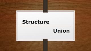 Structure vs union