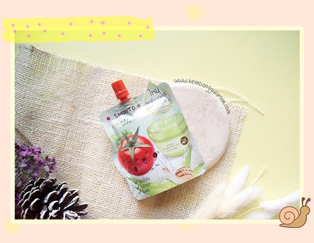 Smooto Tomato Aloe Snail Jelly Scrub Review