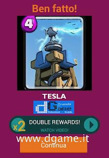 Soluzioni Quiz Clash Royale card livello 29