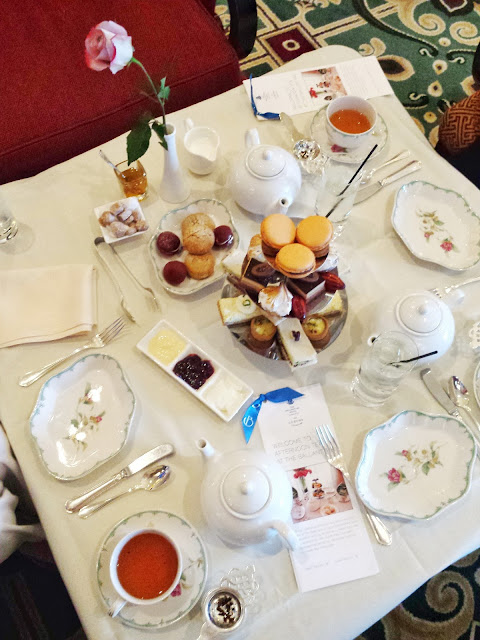 #OutaboutNC: Afternoon Tea at the Ballantyne Hotel
