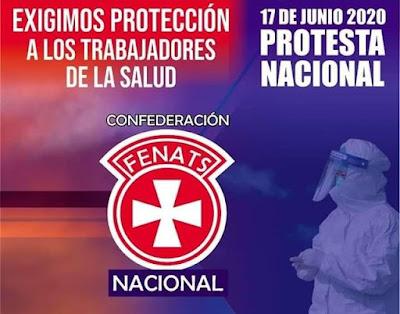 🇨🇱😷Trabajadores de la Salud llaman a protesta nacional