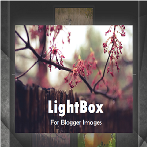 custom stylish responsive jQuery lightbox for blogger