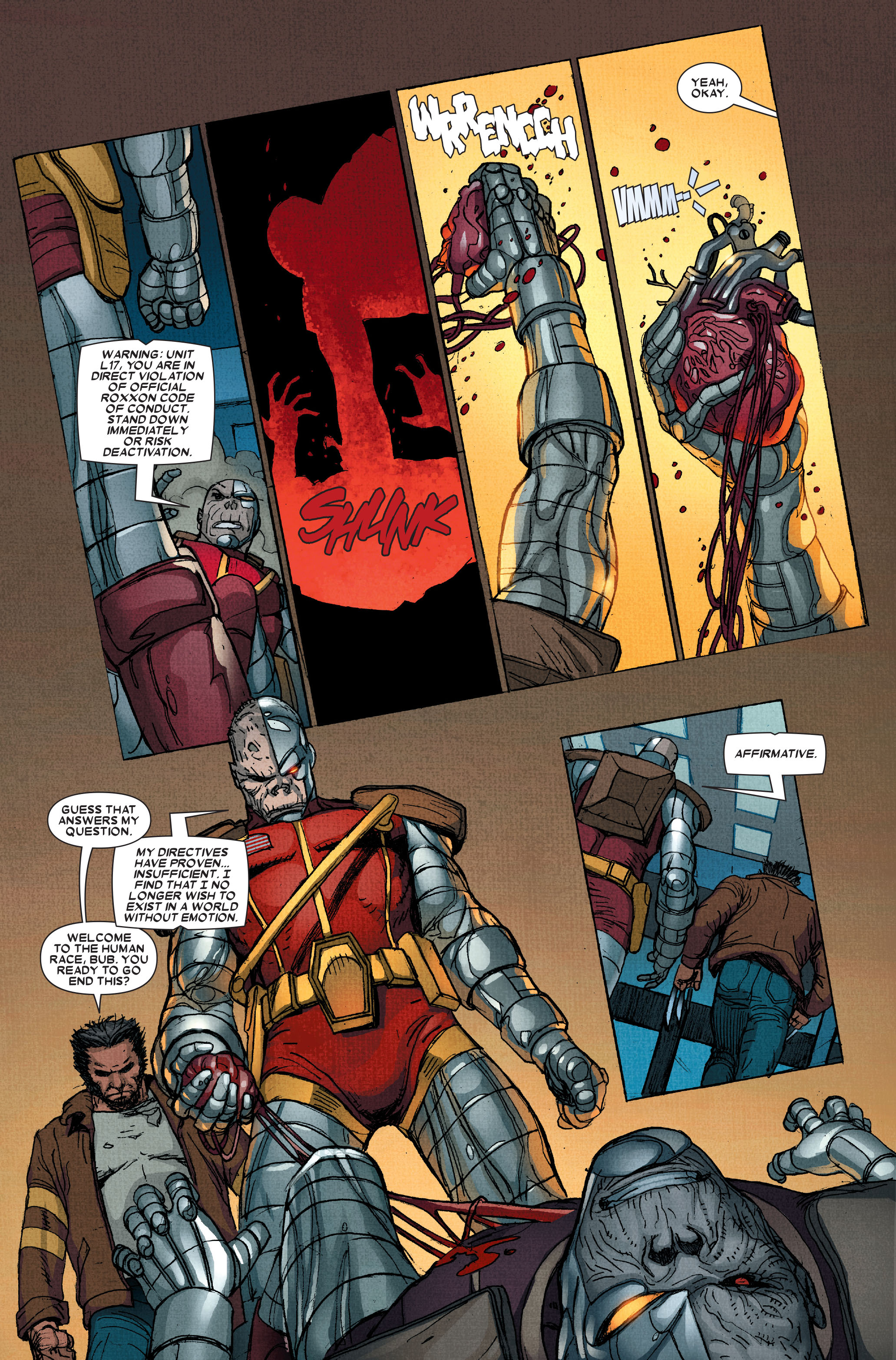 Read online Wolverine: Weapon X comic -  Issue #15 - 16