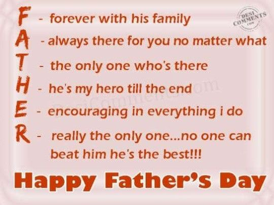 messages for fathers day