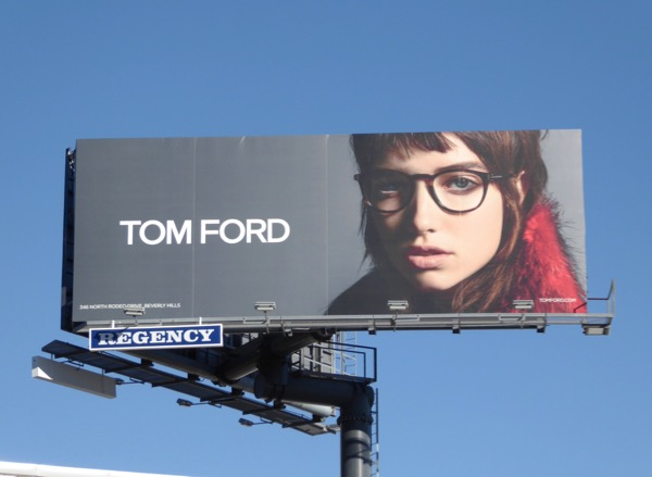 Tom Ford Spring 2017 Eyewear billboard