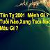 Tuổi Tân Tỵ 2001  Mệnh Gì ? Hợp Tuổi Nào Hợp Màu Gì