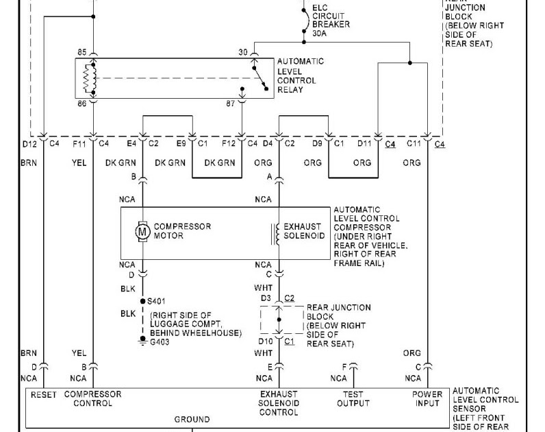 Wiring diagram 1998 Buick Park Avenue Ultra | Collection
