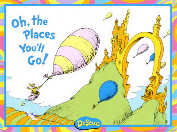Oh The Places Youll Go Prêt à Voyager