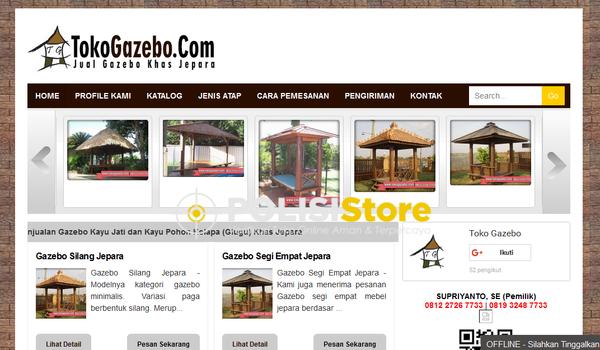 Toko Gazebo - Verifikasi Toko Online Aman dan Terpercaya - Polisi Store