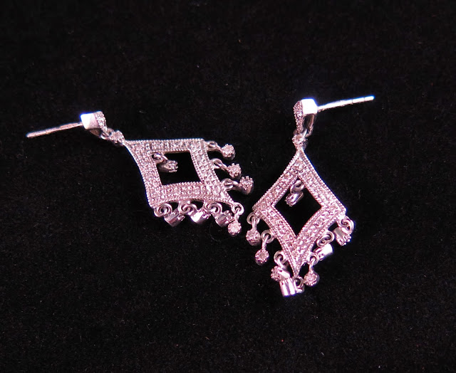 diamond earrings, Michelle Louise Love