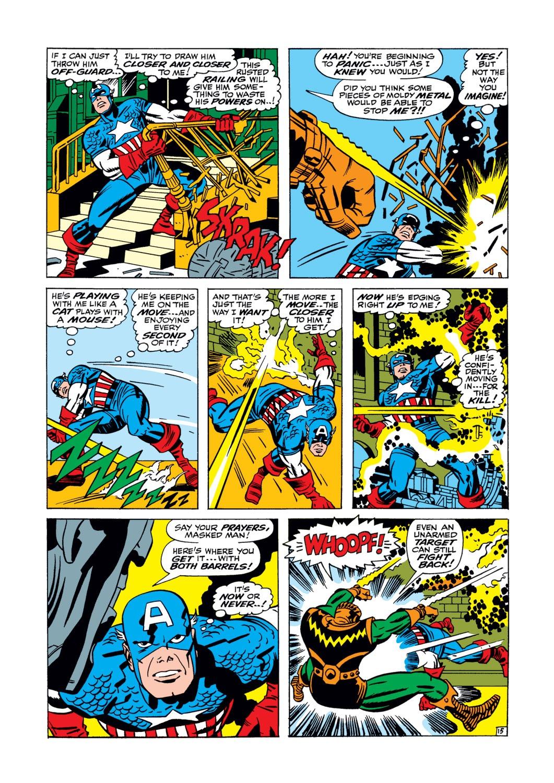 Read online Captain America (1968) comic -  Issue #105 - 16