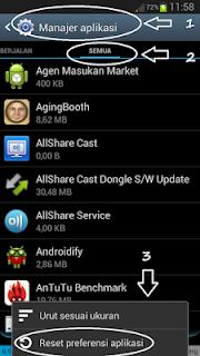 Mengatasi Play Store yang bermasalah di Android