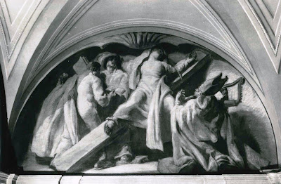 mujeres crucificadas crucified women santa eulalia sert ayuntamiento barcelona