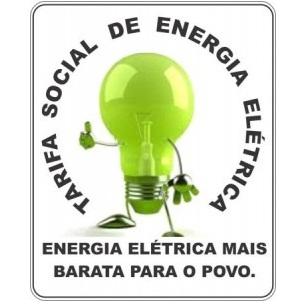 Resultado de imagem para tarifa social de energia elétrica