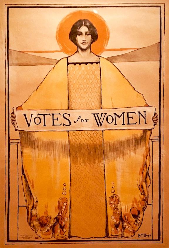 """Votes for Women"" ©1913 Bertha Margaret Boyé"