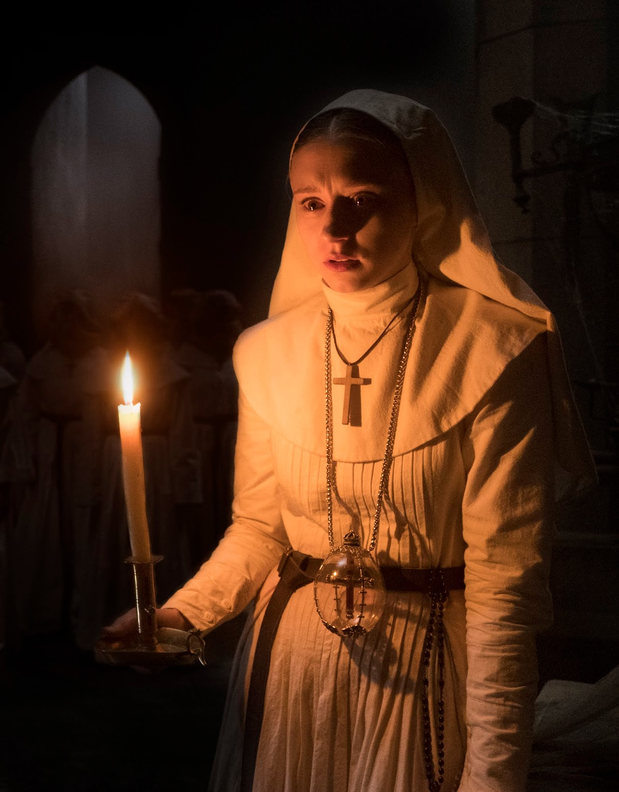 Beware Of The Nun Ear Candle Indian Per Batang Farmiga Responds Working With Corin Was Amazing Because Hes So Artistic And Creative Good At Getting To Emotional Fear