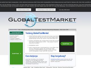 cara melakukan survey global test market
