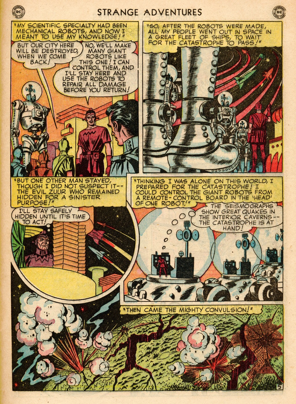 Strange Adventures (1950) issue 2 - Page 43