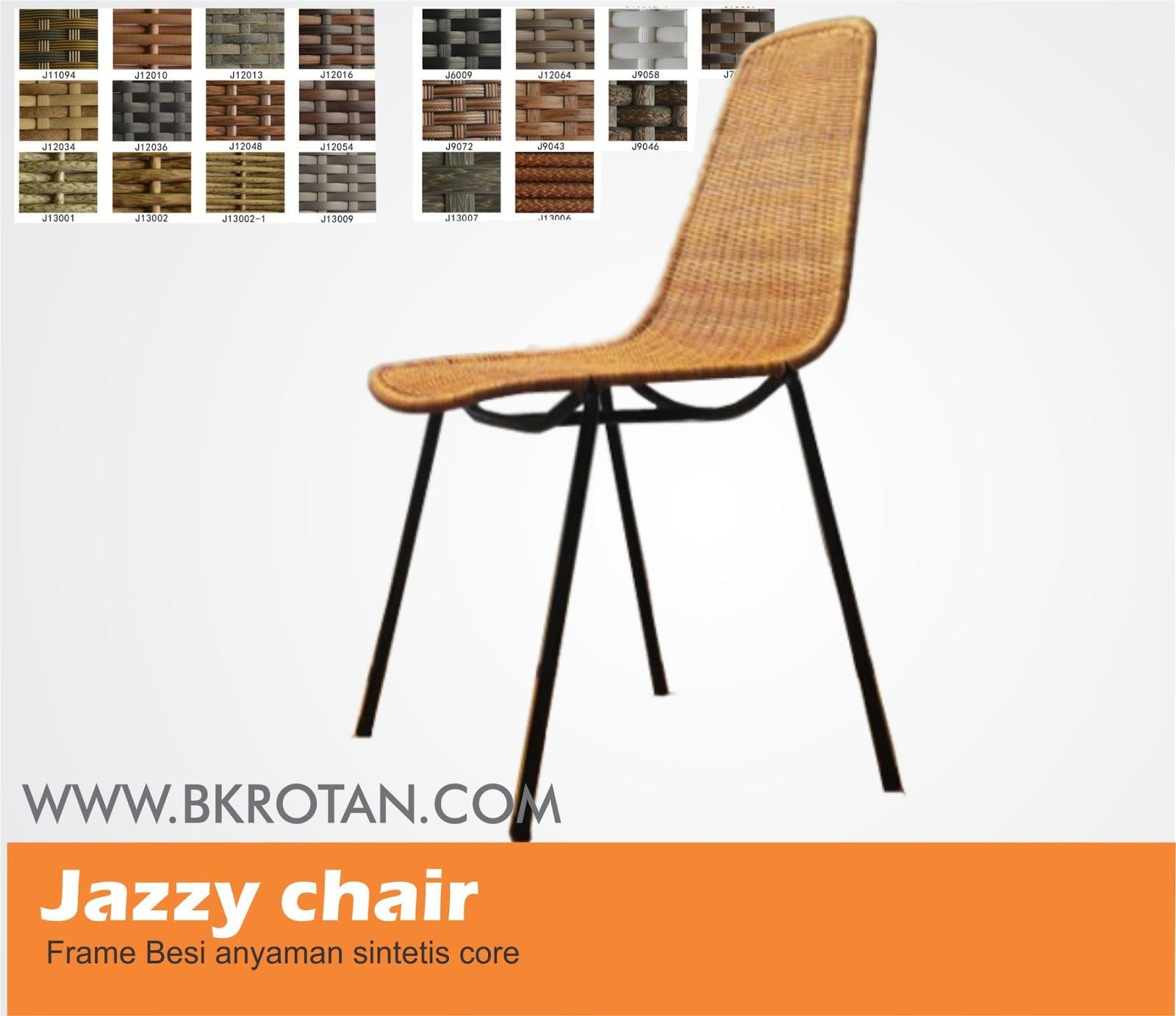 Jazzy Industrial Chair Buana Kreasi Rotan