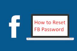 Reset Password In Facebook 2019