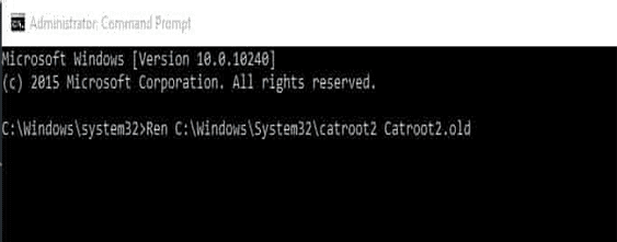 Reset the Windows Components-7
