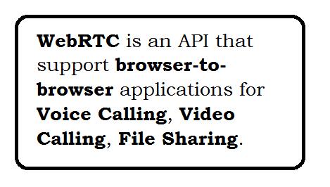 WebRTC Examples
