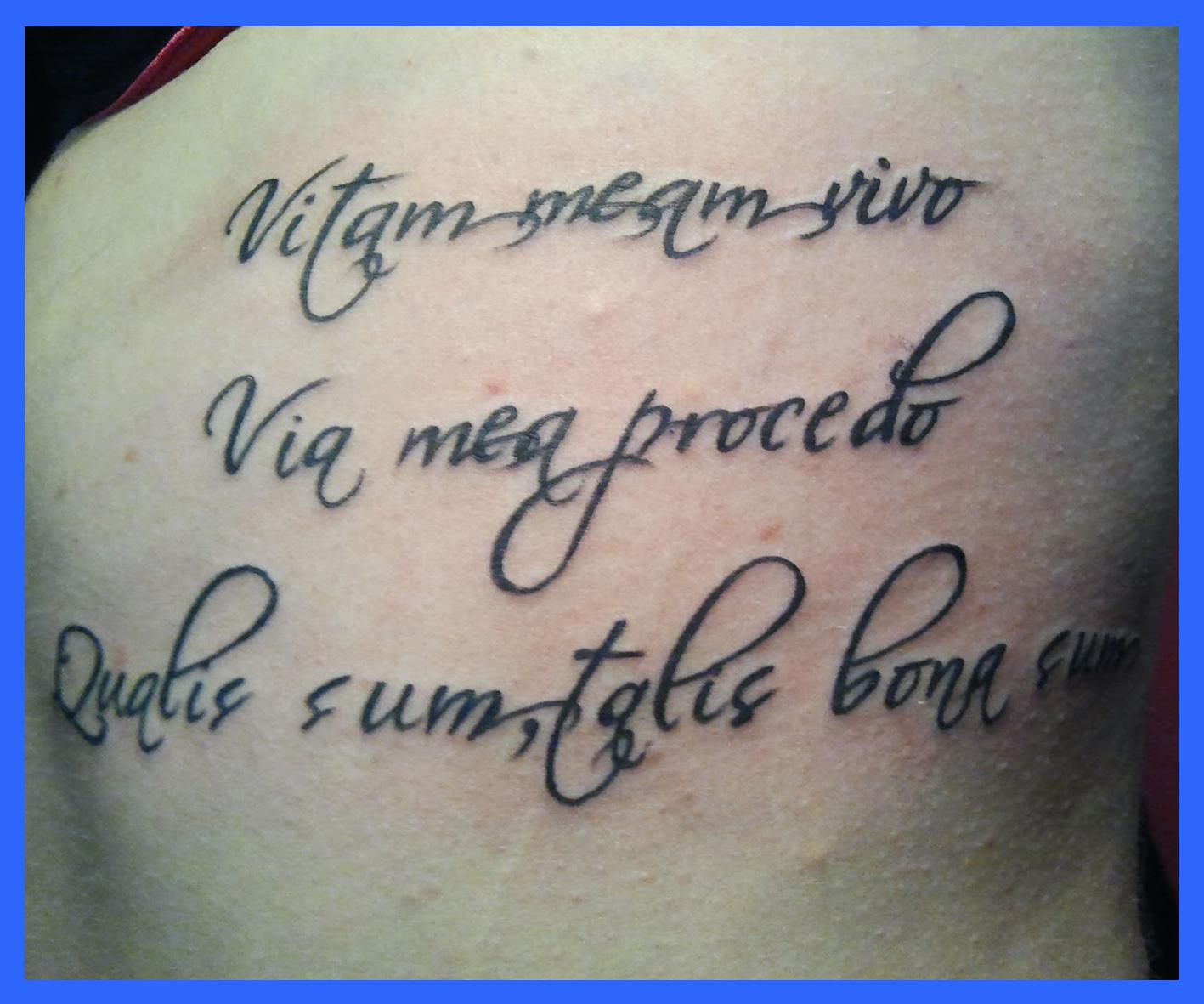 El Tatuaje En Salamanca Estudios Tatuajes Y Tatuadores Letras
