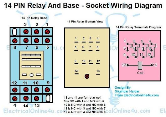Pin Relay Wiring Diagram Diagram Albumartinspirationcom - 5 pole relay wiring diagram