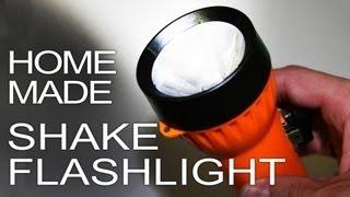 Як зробити електромагнітний ліхтарик (працює від струшування)
